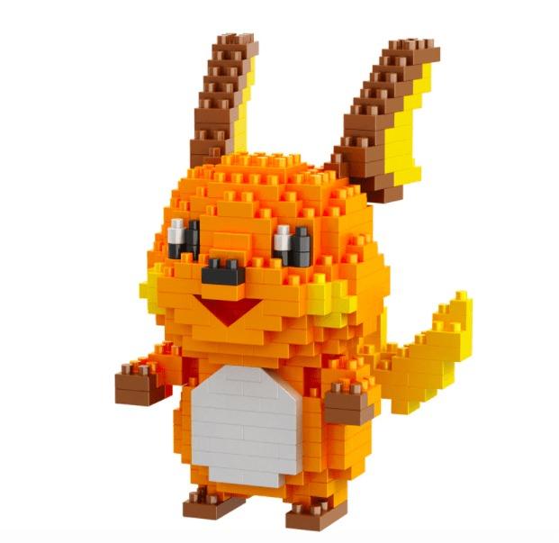 LNO Raichu miniblock - Pokémon - 355 mini blocks