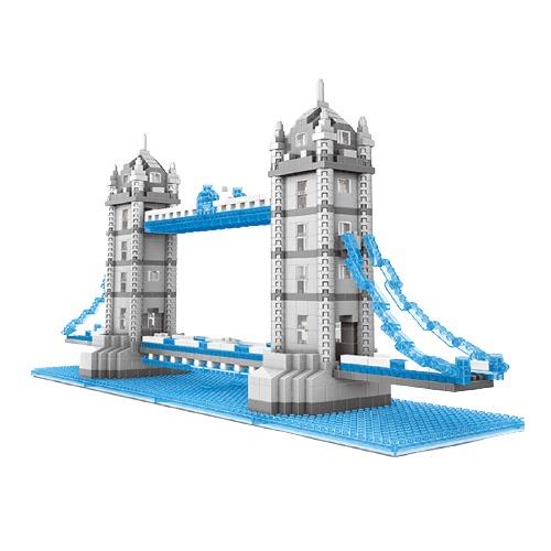 Wise Hawk Tower Bridge miniblock - 1228 mini blocks