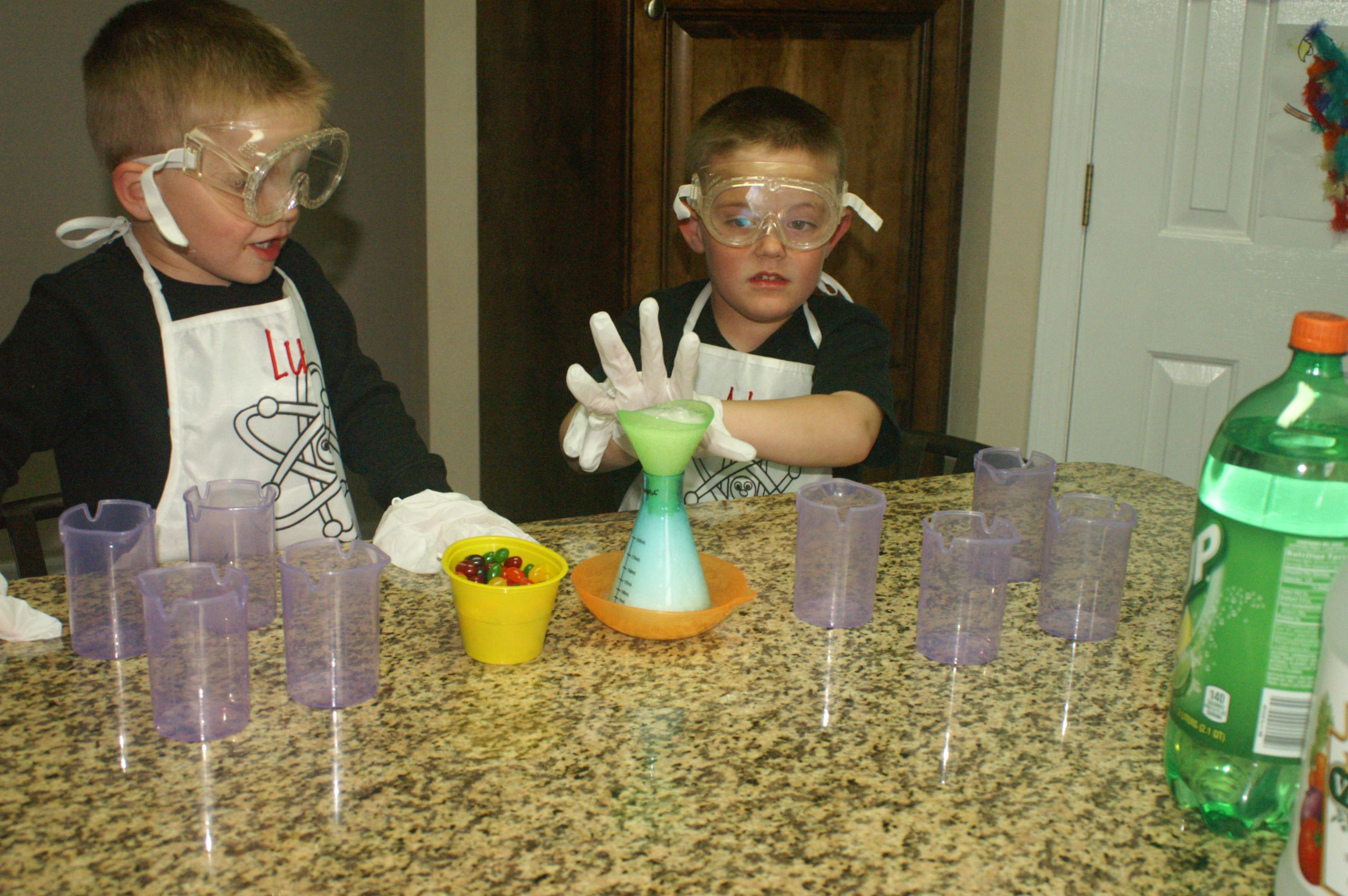 Jelly Bean Experiments