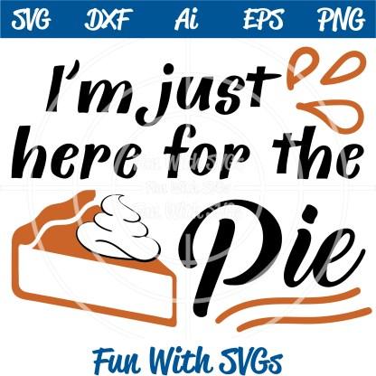 pumpkin pie SVG