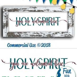 Holy Spirit SVG PIN Image