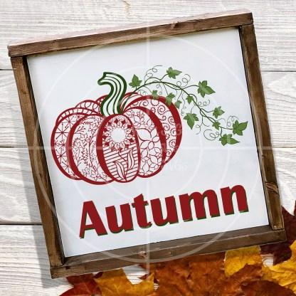 Zentangle Pumpkin SVG File