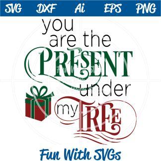 Christmas Present SVG Image