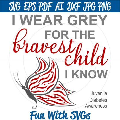 Find a Cure, Juvenile Diabetes Awareness Image