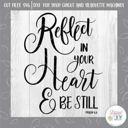 Psalm 4:4 SVG Image by Digital Joy