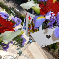 Tea Cup & Martini Glass Flower Centerpieces