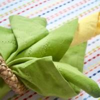 Easy Corn Napkin Tutorial