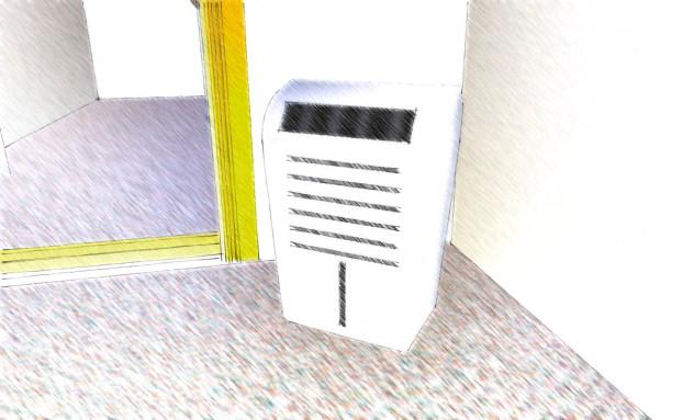 空気清浄機-色鉛筆