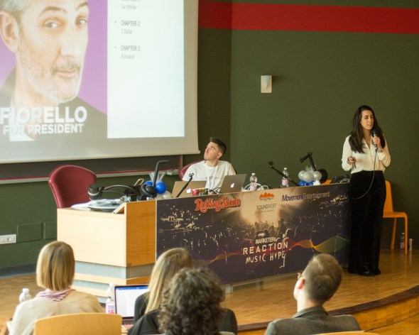 Veronica Dolce, Marketing Manager di Rolling Stone Italia