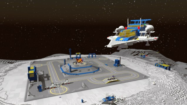 "LEGO Worlds pacchetto DLC ""Classic Space"" e uscita Switch 2"