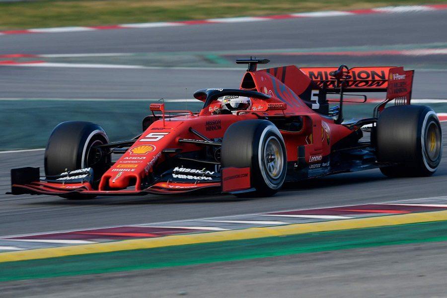 F1   Day 1 Barcellona: Vettel subito sugli scudi.