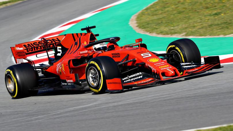F1   Day 8 Barcellona: a Vettel l'ultima giornata di test!