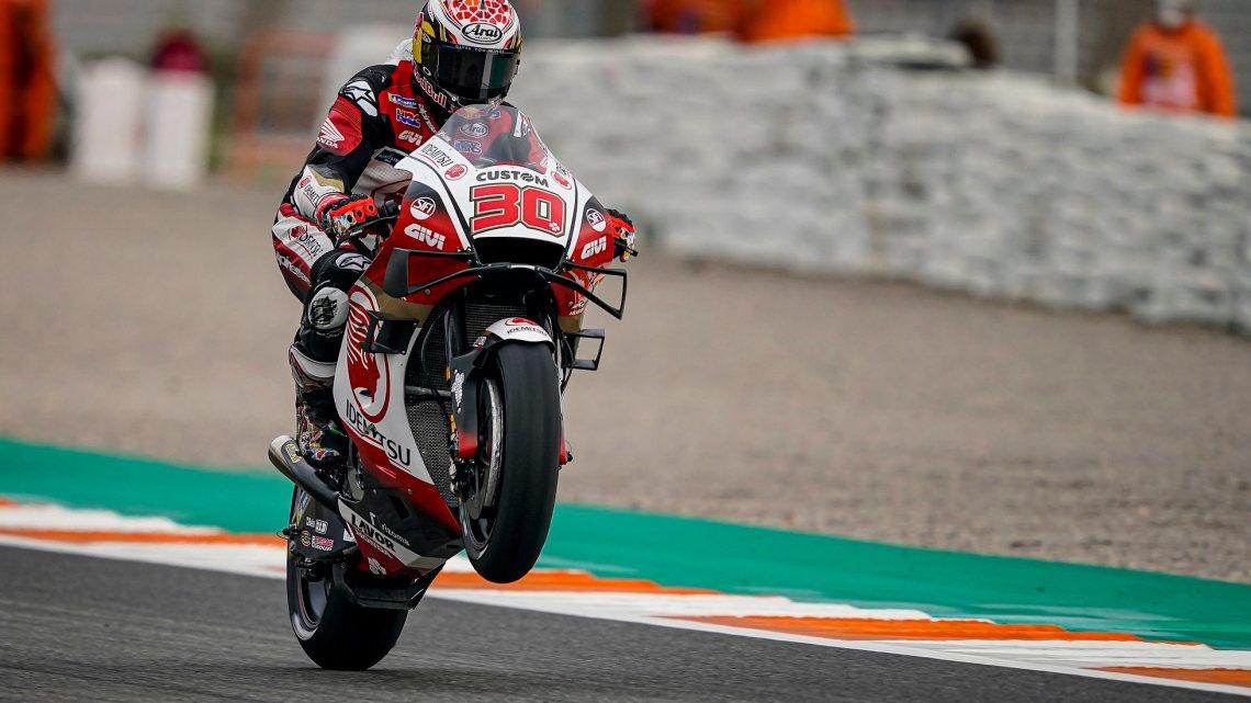 MotoGP | Nakagami davanti a tutti nelle FP1 a Valencia.