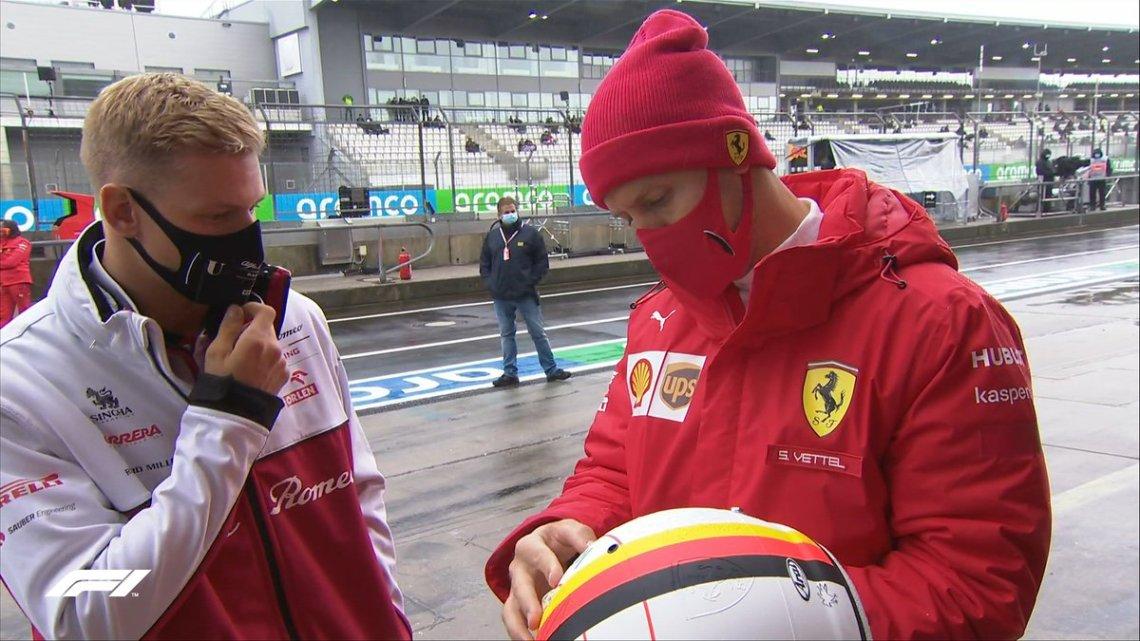 "F1 | Sebastian Vettel: ""Aiuterò Mick, ma deve trovare la sua strada."""