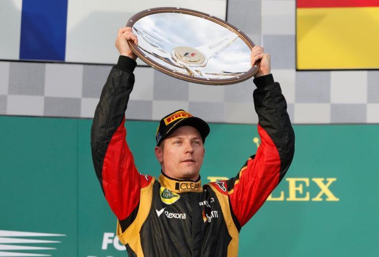 Watch - 2013 Australian GP: Kimi Raikkonen wins in Melbourne (onboard last  Lap + team radio)
