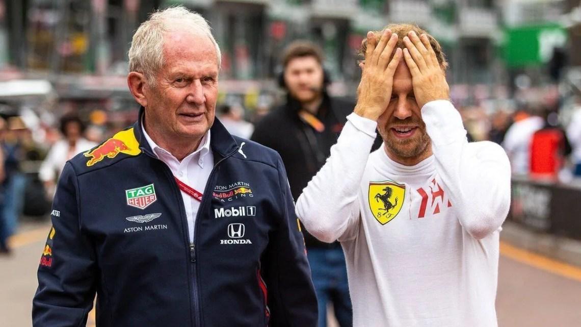 """Helmut Marko: """"Quando abbiamo deciso di cambiare Albon, Vettel era già in Aston Martin. Gli avevo consigliato un anno sabbatico."""""""