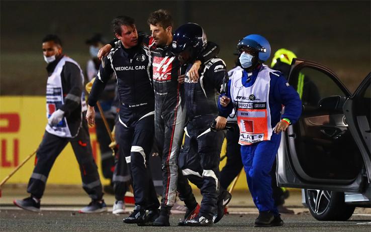 Romain Grosjean Bahrain 2020