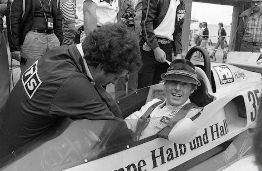 Hans Heyer: l'uomo che si imbucò ad un Gran Premio.