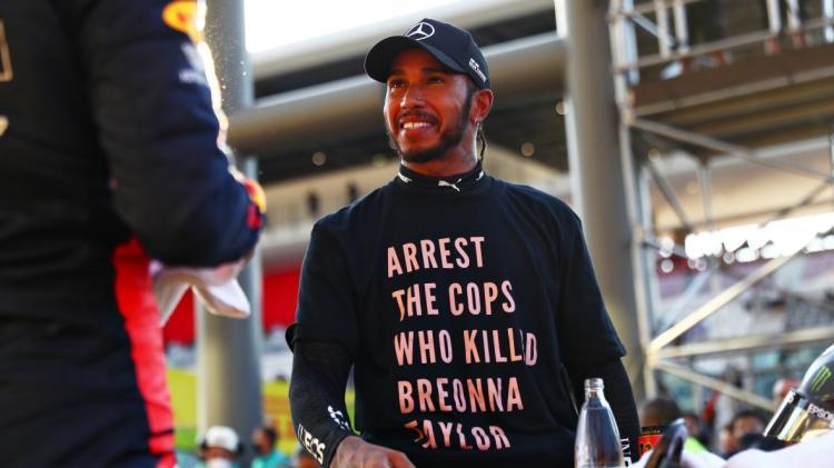 Lewis Black Lives Matter