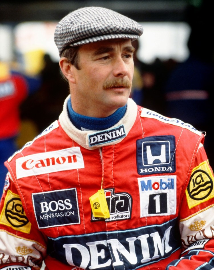 Mansell in Williams