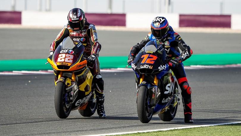 FP1/FP2 | In Moto2 continua il duello Bezzecchi-Lowes, Toba davanti in Moto3