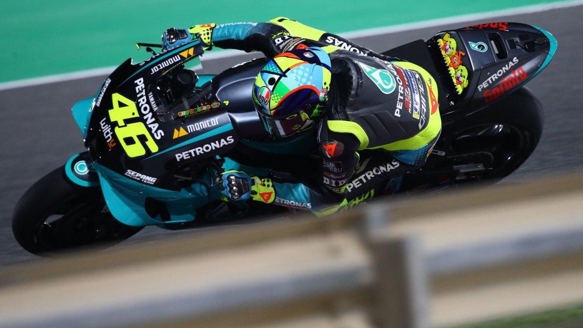 """Rossi 20°: """"Non ho fatto il time attack, ma non sono veloce."""""""