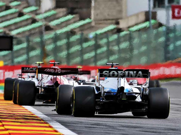 Haas, Alfa Romeo e Williams nelle retrovie