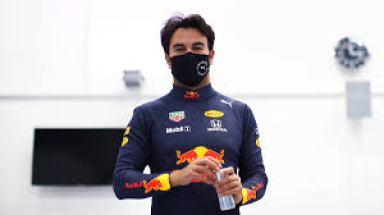 Checo Pérez in Red Bull