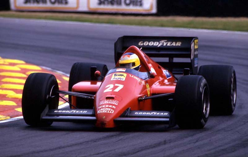Michele Alboreto – L'ultimo Italiano che vinse al galoppo del Cavallino.