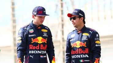 Sergio Pérez Max Verstappen Red Bull