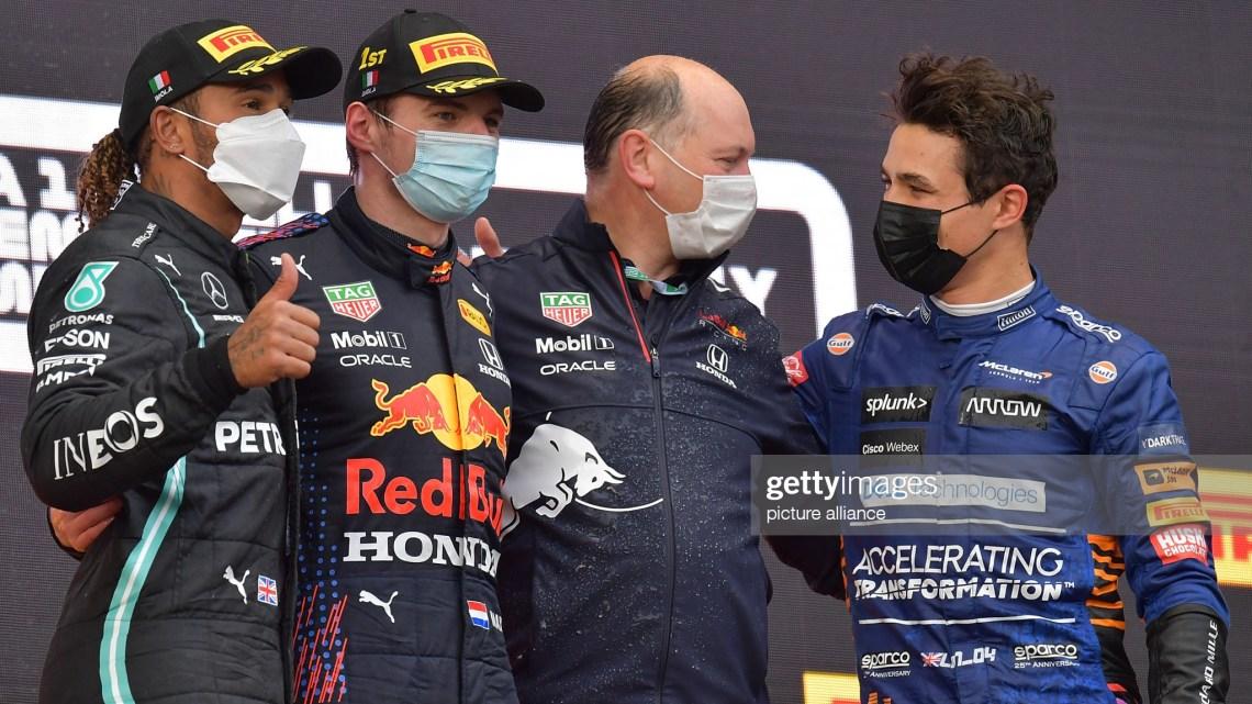 Imola, Gara: vince Verstappen davanti a Hamilton e Norris. Ma che gara!