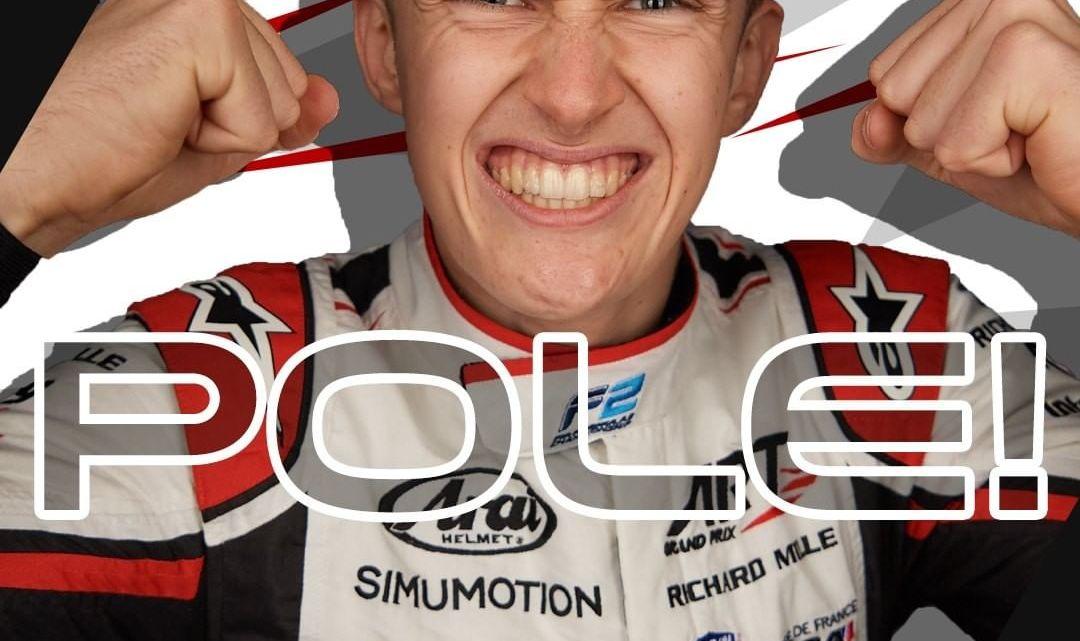 F2   Gran Premio di Monaco – Pourchaire prende una fantastica pole, seguito dalle due Prema