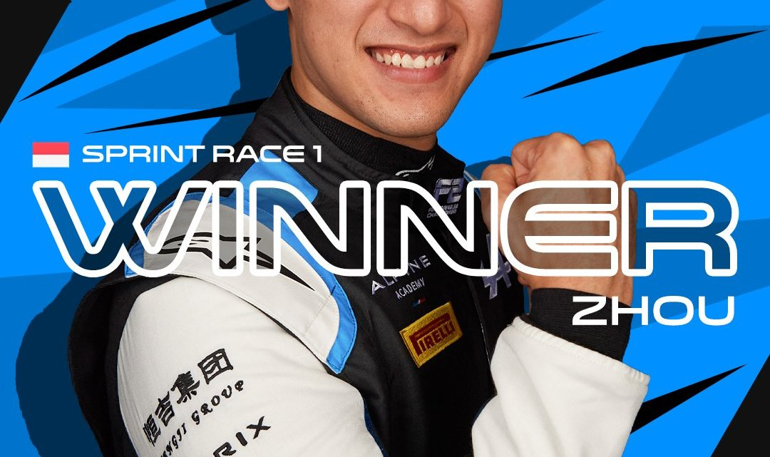 F2 – Gara 1 a Monaco: Zhou vince e allunga in classifica generale. Drugovich e Nissany sul podio.