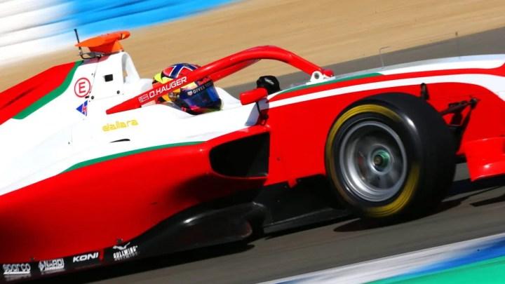 F3 – Prove Libere del GP di Barcellona-Catalunya: Hauger è il più veloce davanti a Martins e Vesti.