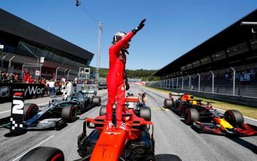 Red Bull Ring Charles Leclerc Max Verstappen