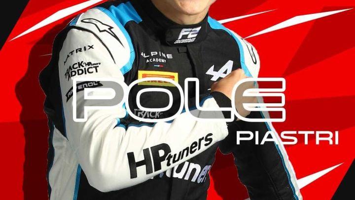 F2   Gran Premio di Gran Bretagna – Piastri in pole si porta a meno uno da Zhou che partirà in prima fila con lui!