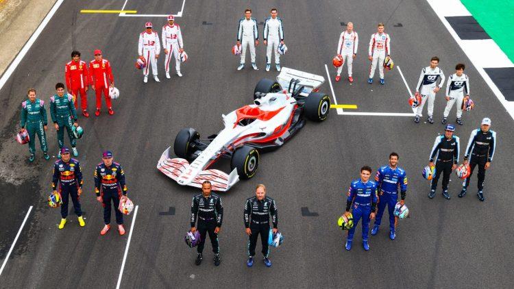 F1 2022 piloti