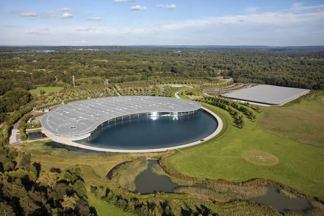 Infrastrutture McLaren