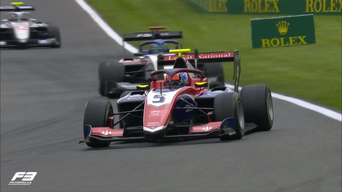F3   GP  Belgio – Novalak detta il ritmo nelle Prove Libere.