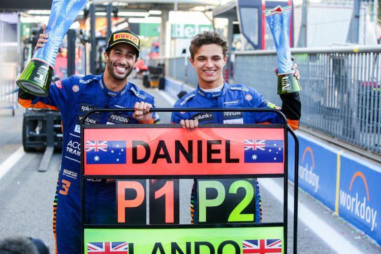 Doppietta McLaren al GP d'Italia