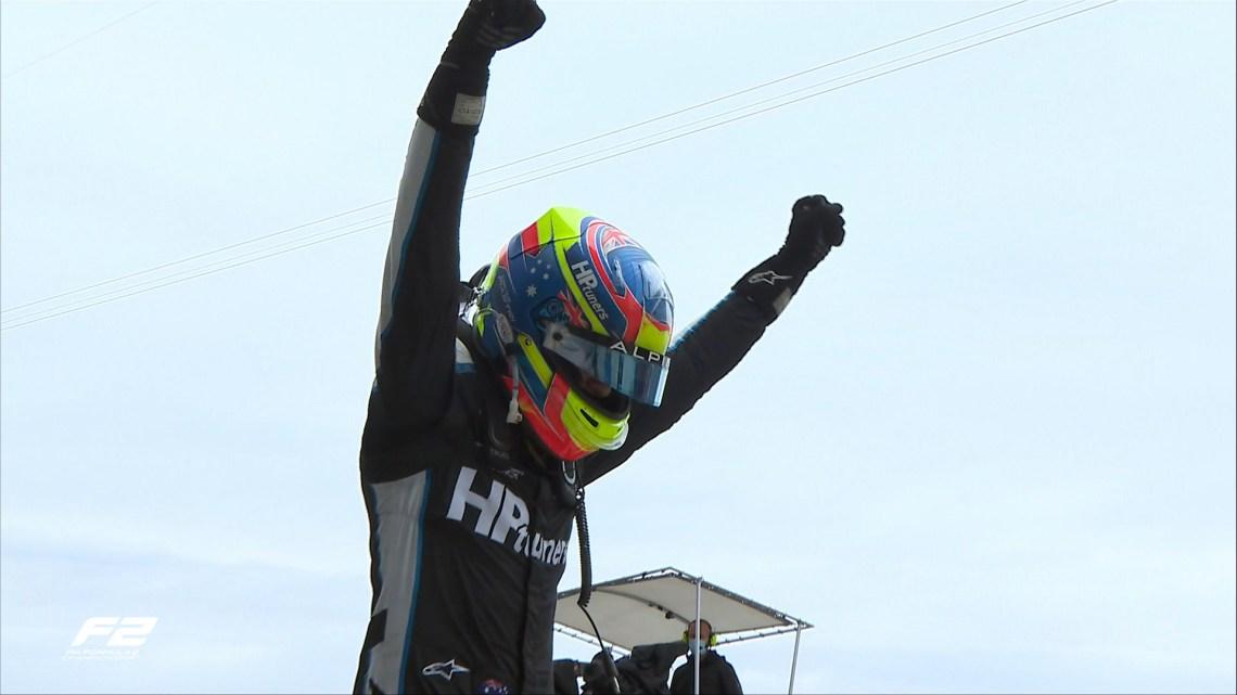 F2   Gran Premio di Russia 2021 – Feature Race dominata dai rookie! Vince Piastri seguito da Pourchiare, anonimo Zhou.