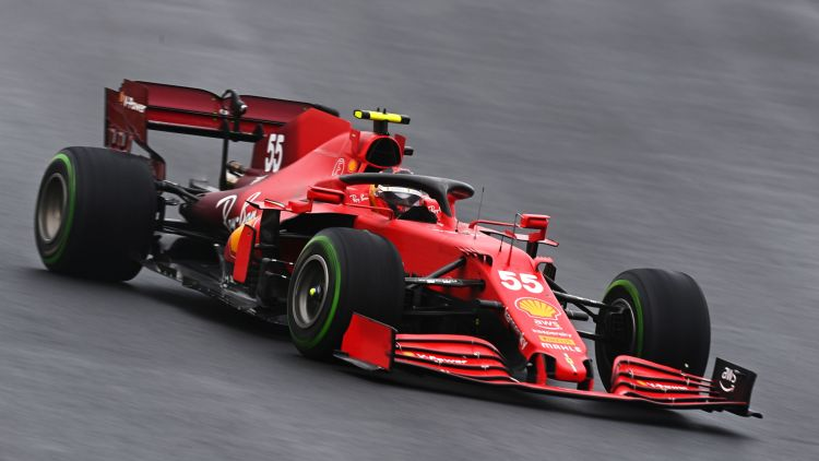 Carlos Sainz durante il GP di Turchia