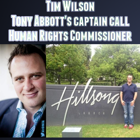 Image: an old meme of mine from when Tim Wilson resigned from the IPA and took up his Human Rights Commission sinecure thanks to Tony Abbott