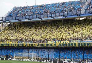 Torcida do Boca Juniors. Foto: Instagram @bocajrsoficial