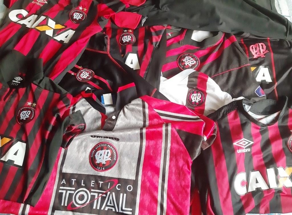 camisas diversas coleção rubro negro