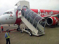 話題の格安航空AirAsia