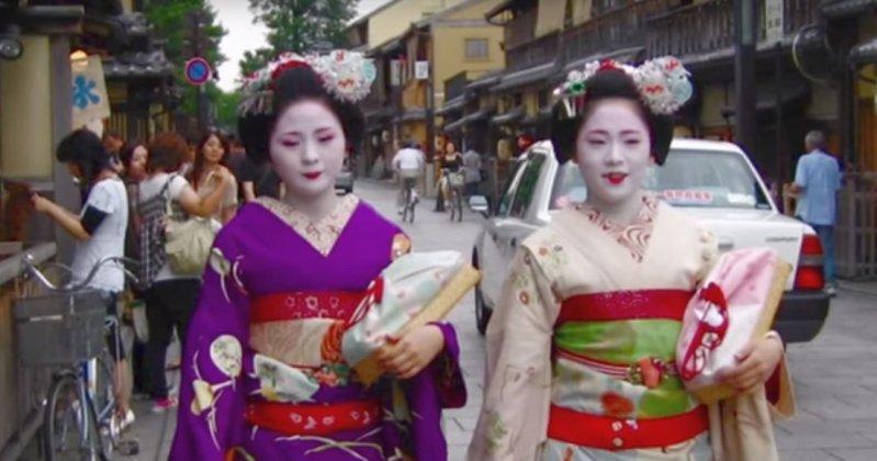 une geisha japon