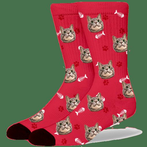 FurbabySocks-Custom-Red-Cat-Socks