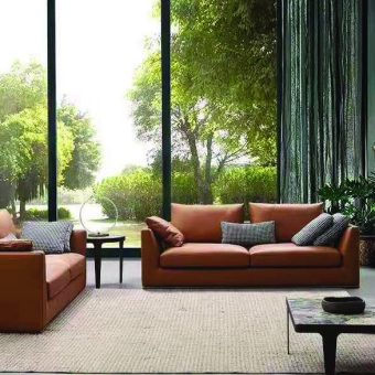 8231-high quality modern leather sofa made by china luxury and modern furniture factory and company-furbyme