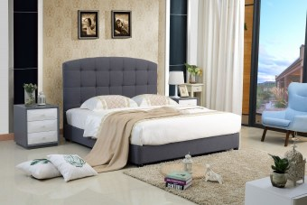A8800high quality upholstered fabric bed made by china luxury and modern furniture factory and company-furbyme (2)
